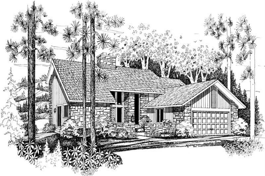 Main image for house plan # 18249