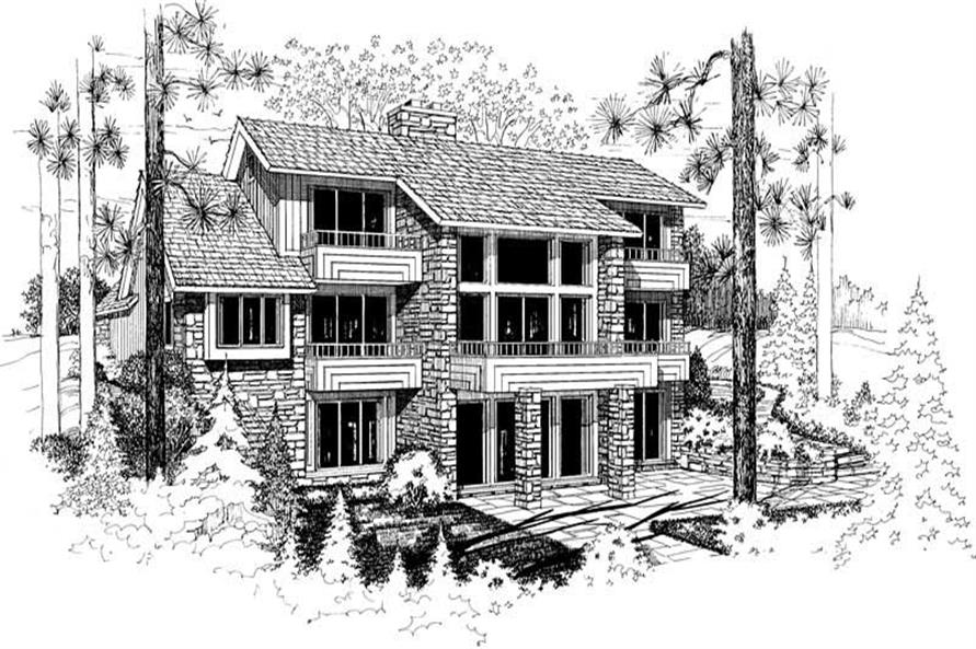 House Plan #137-1381