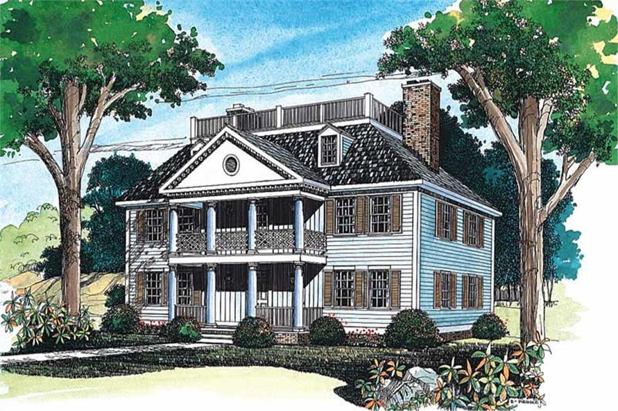 Main image for house plan # 18300