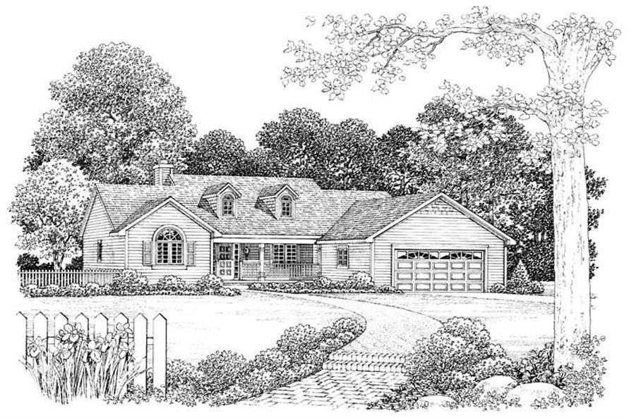 House Plan #137-1384