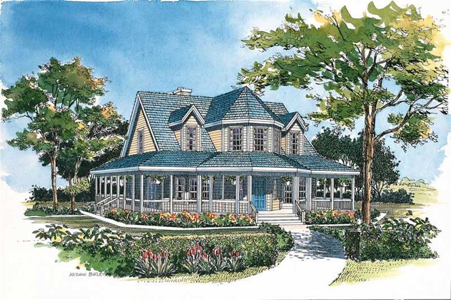Main image for house plan # 18229