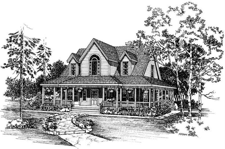 House Plan #137-1386