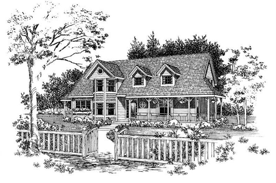 Main image for house plan # 18242