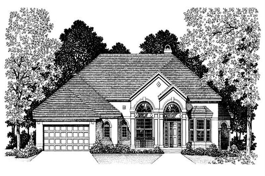 House Plan #137-1390