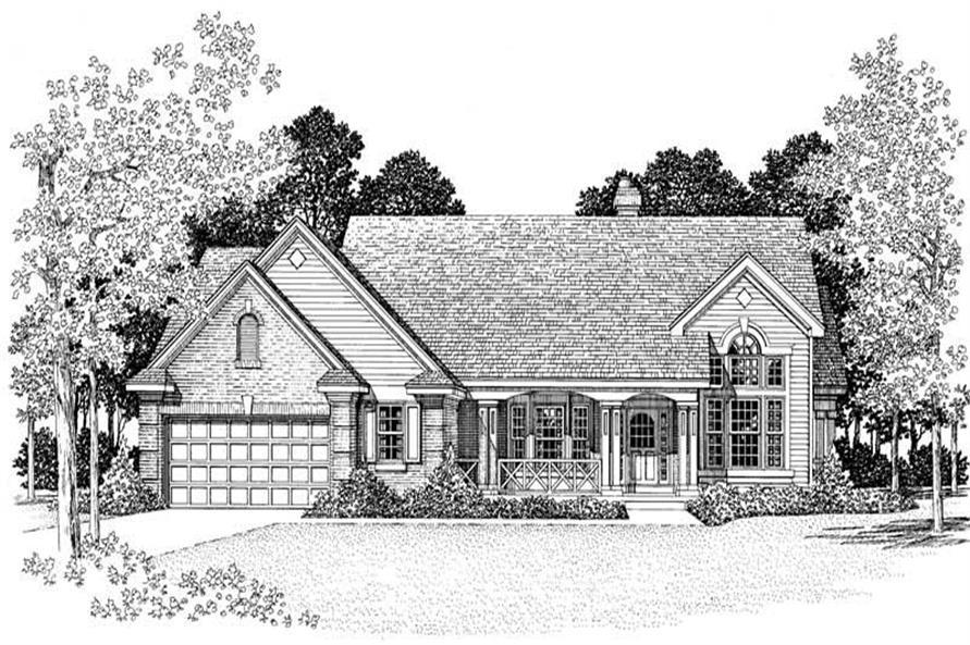 House Plan #137-1392