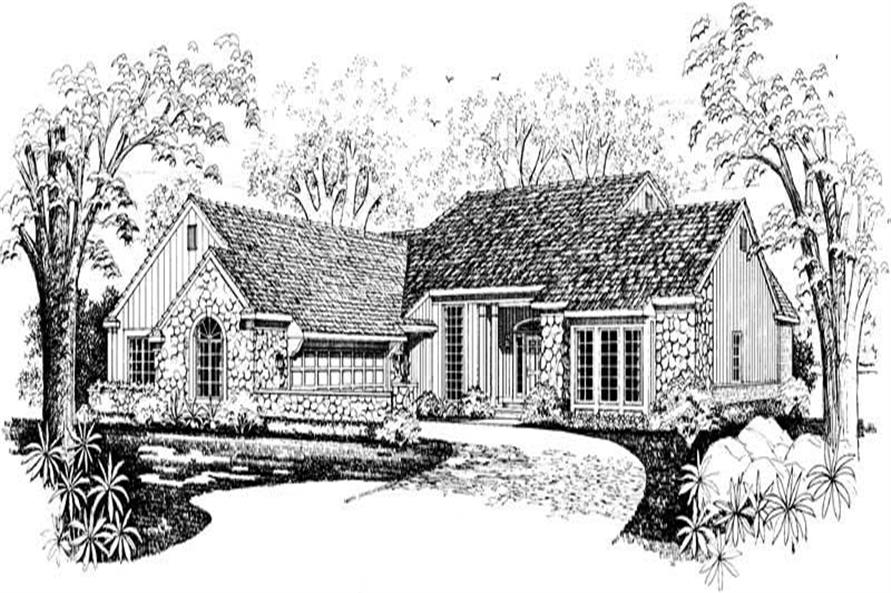 Main image for house plan # 18291