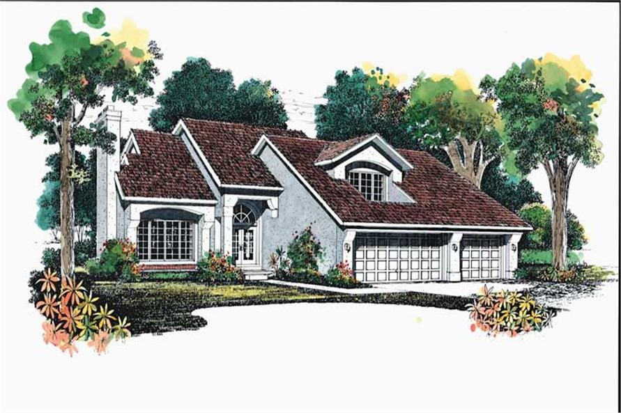 Main image for house plan # 18264