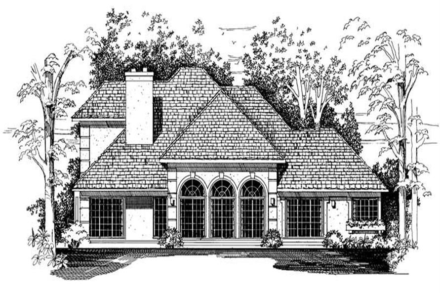 House Plan #137-1402
