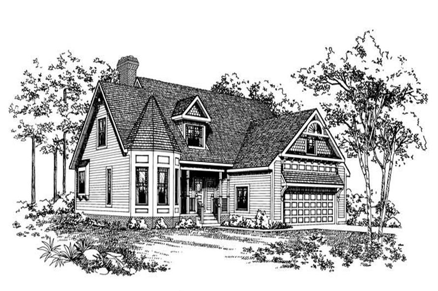 Main image for house plan # 18394