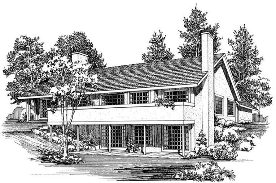 House Plan #137-1414