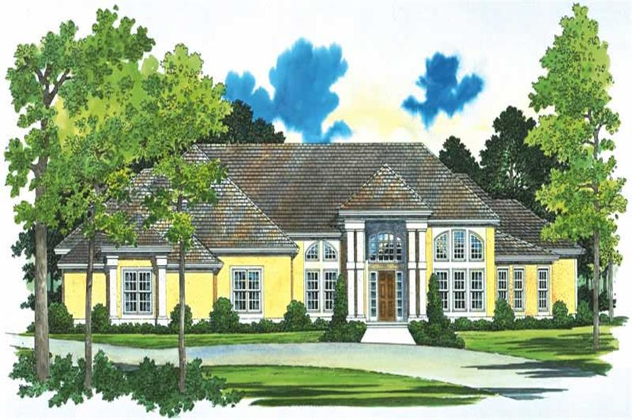 Main image for house plan # 18215