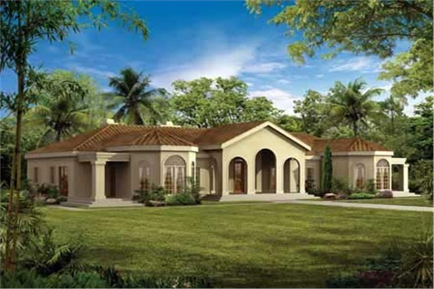 Main image for house plan # 18221