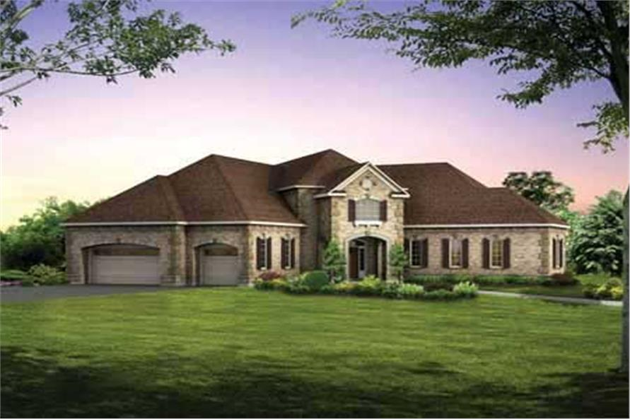 Main image for house plan # 18231