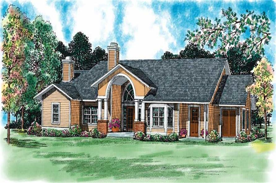 Main image for house plan # 18234