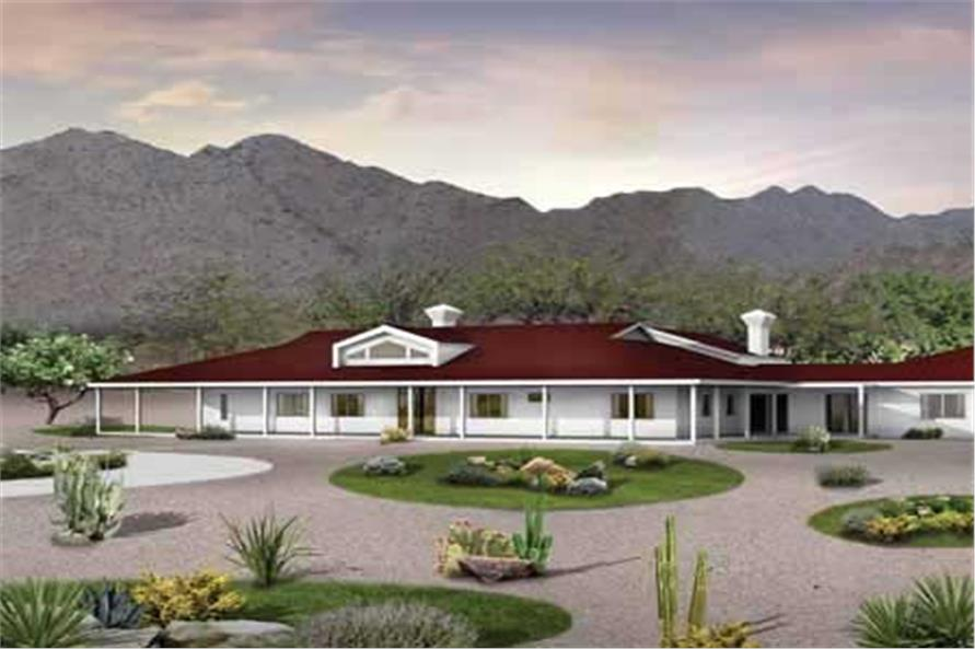 Main image for house plan # 18123