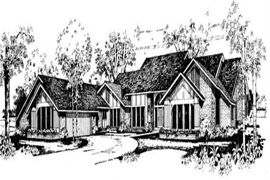 Main image for house plan # 18546