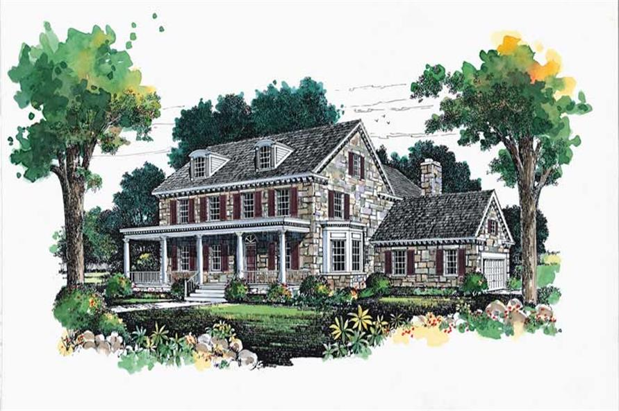 Main image for house plan # 18321
