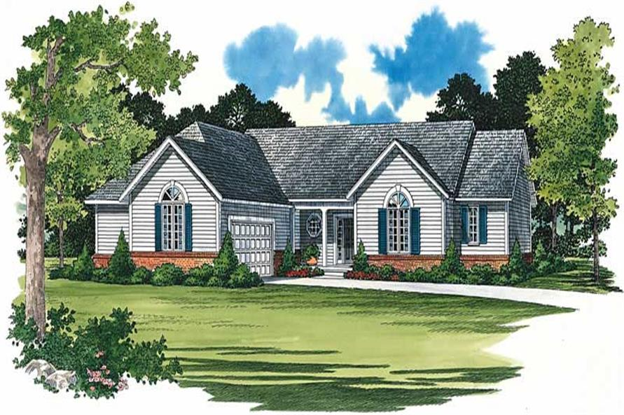 Main image for house plan # 18331