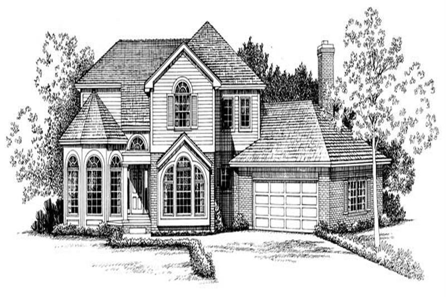 Main image for house plan # 18343