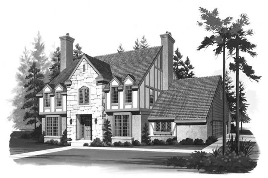 Main image for house plan # 18544
