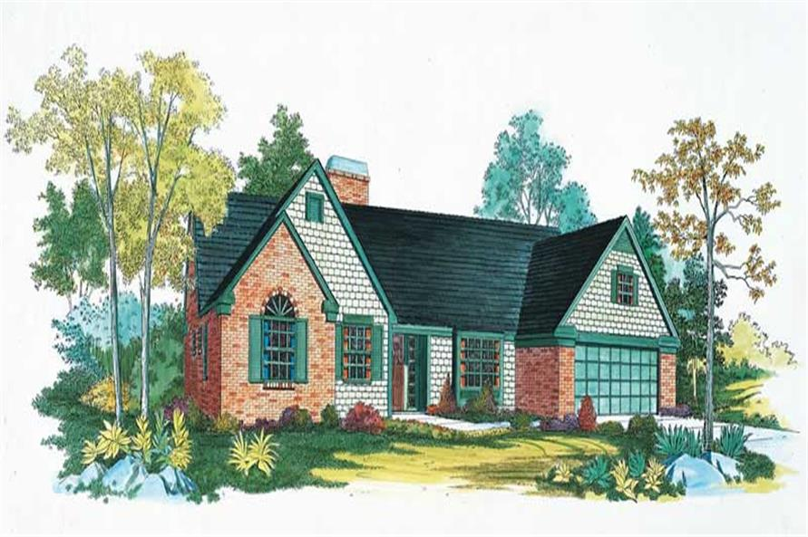 Main image for house plan # 18636