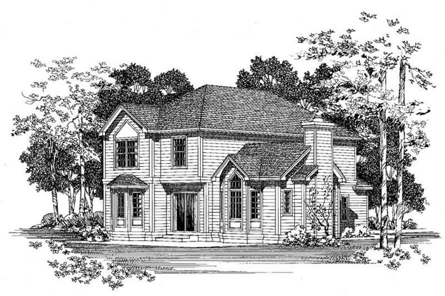 House Plan #137-1446