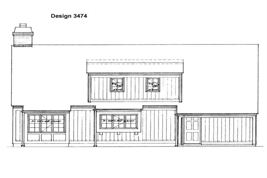House Plan #137-1447