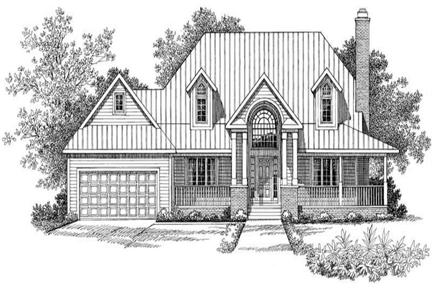 Main image for house plan # 18362