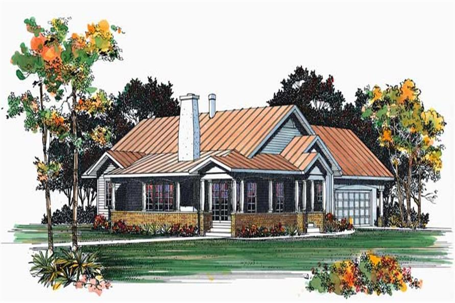Main image for house plan # 18364