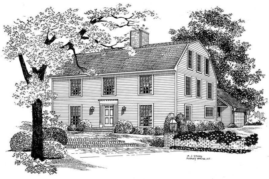 Main image for house plan # 18567