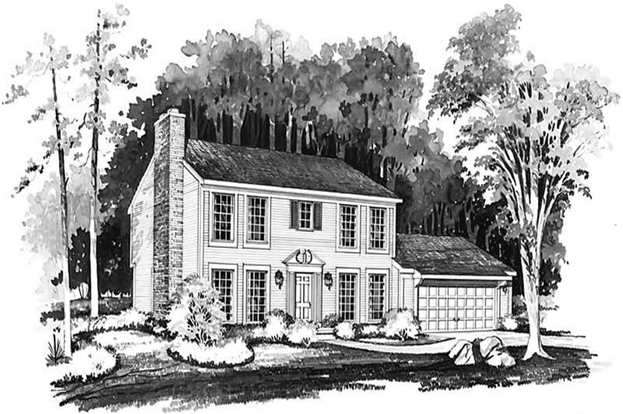 Main image for house plan # 18491