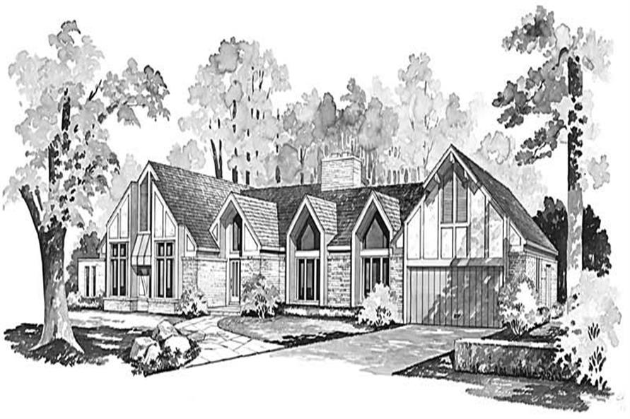 Main image for house plan # 18493