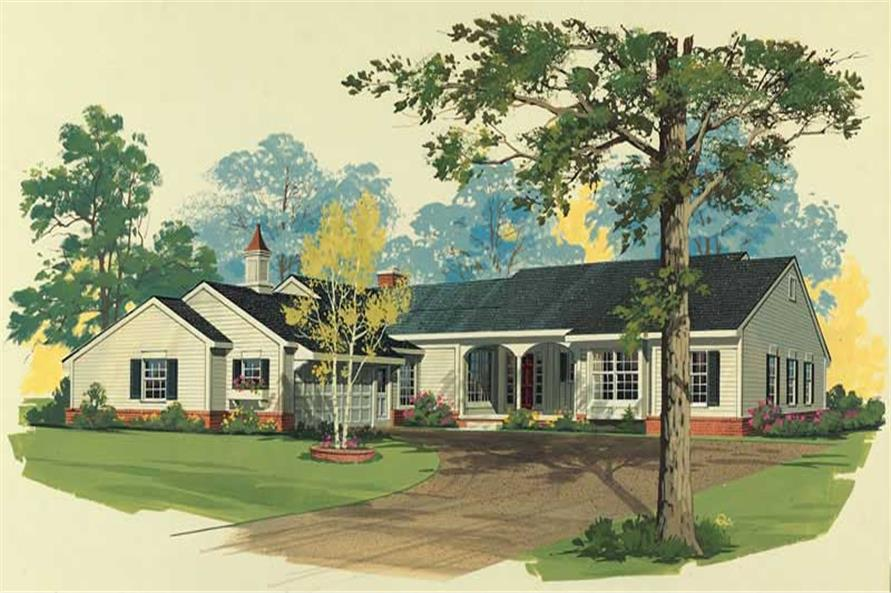 Main image for house plan # 18497