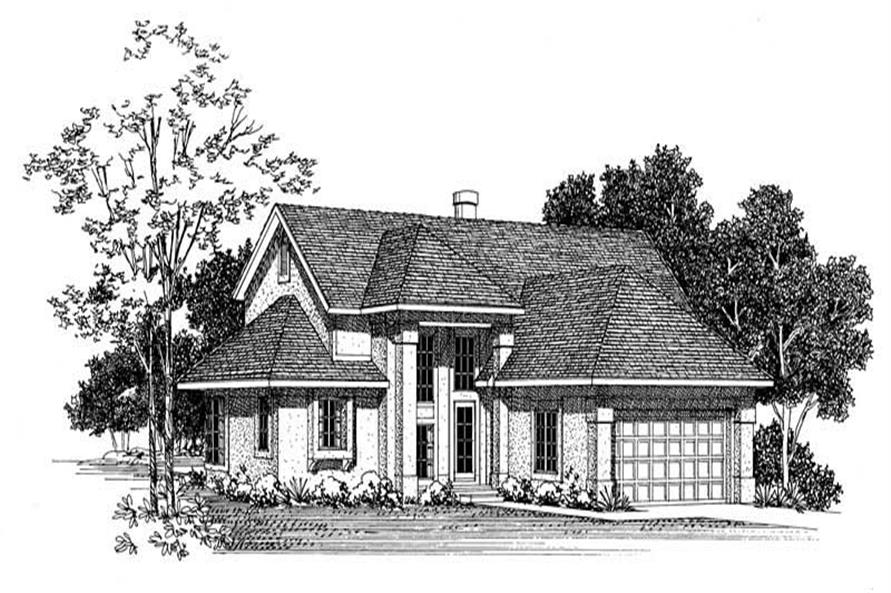 Main image for house plan # 18473