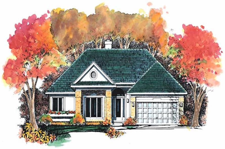 Main image for house plan # 18472