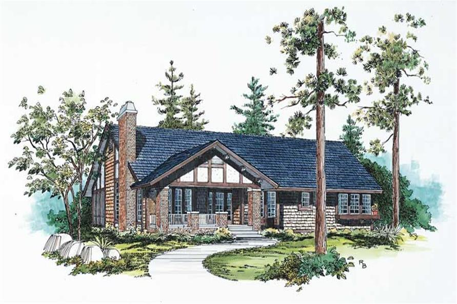 Main image for house plan # 18601