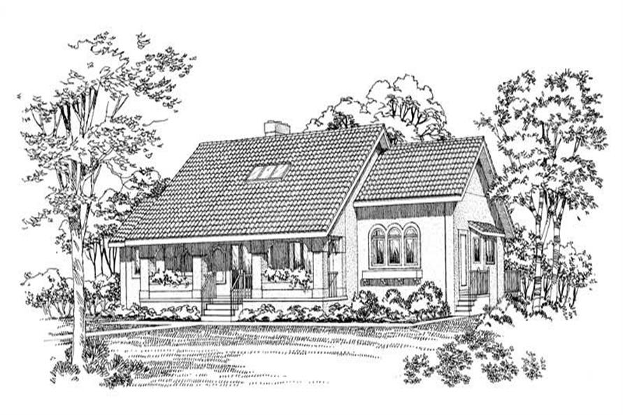 Main image for house plan # 18609