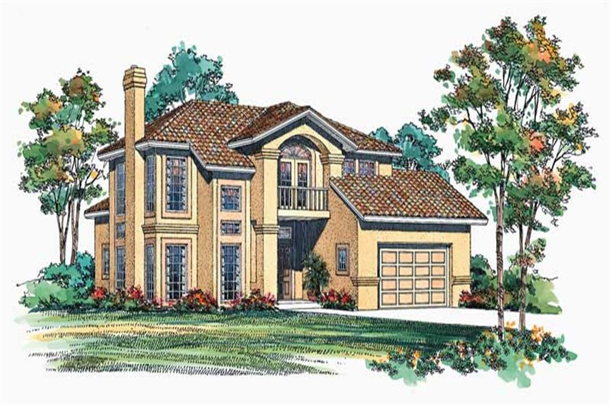 Main image for house plan # 18610