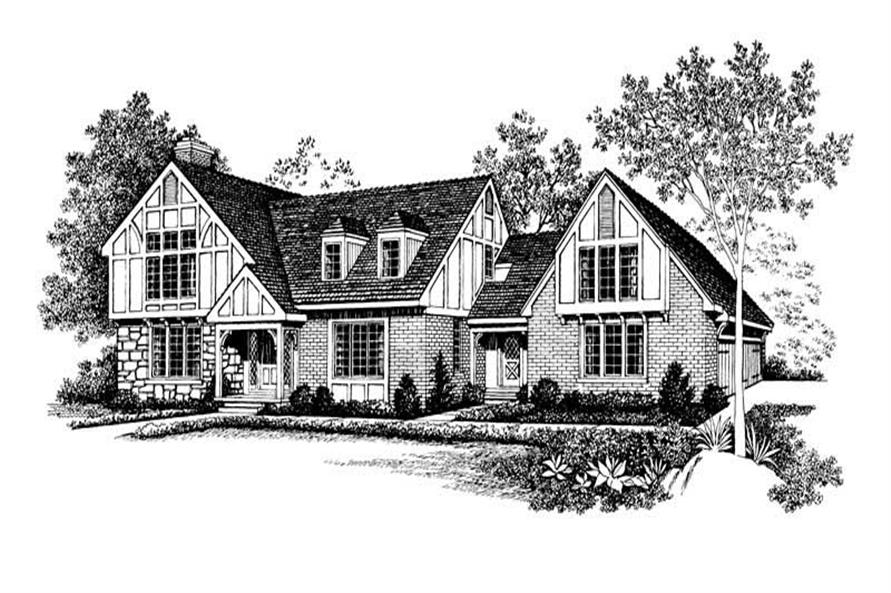Main image for house plan # 18619