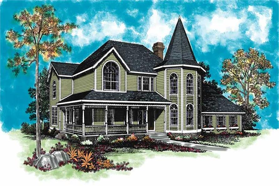 Main image for house plan # 18559