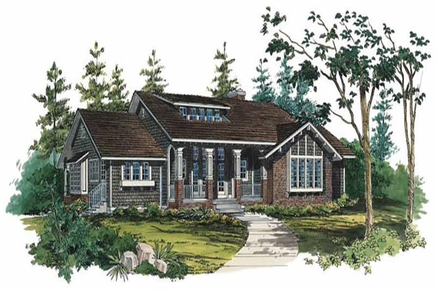 Main image for house plan # 18602