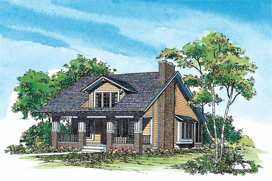 Main image for house plan # 18603