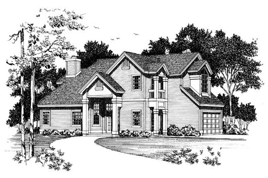 Main image for house plan # 18340