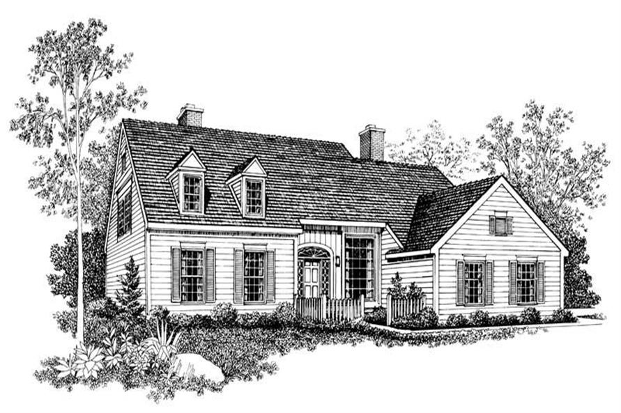 Main image for house plan # 18634