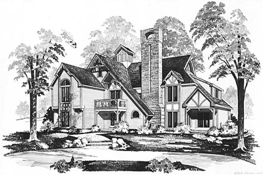 Main image for house plan # 18396