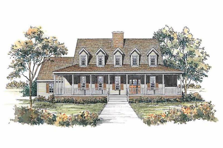 Main image for house plan # 18406