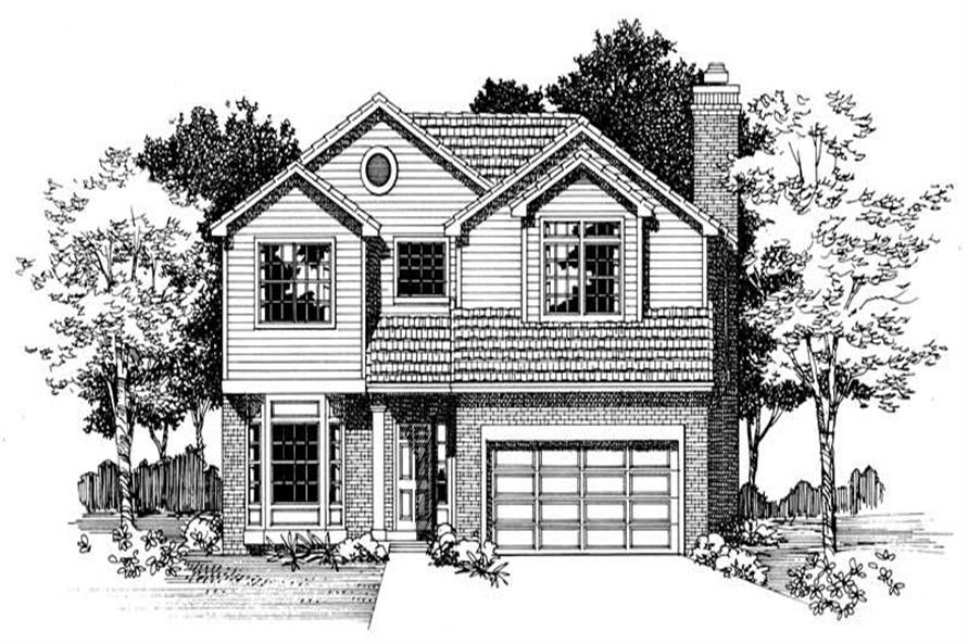 Main image for house plan # 18460