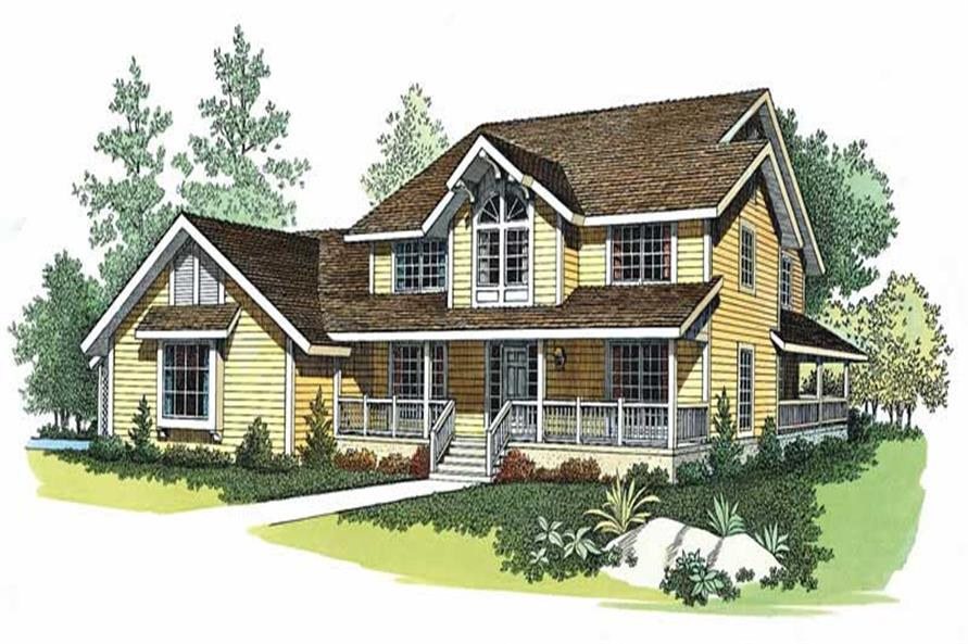 Main image for house plan # 18596
