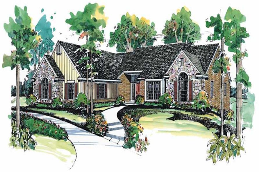 Main image for house plan # 18651