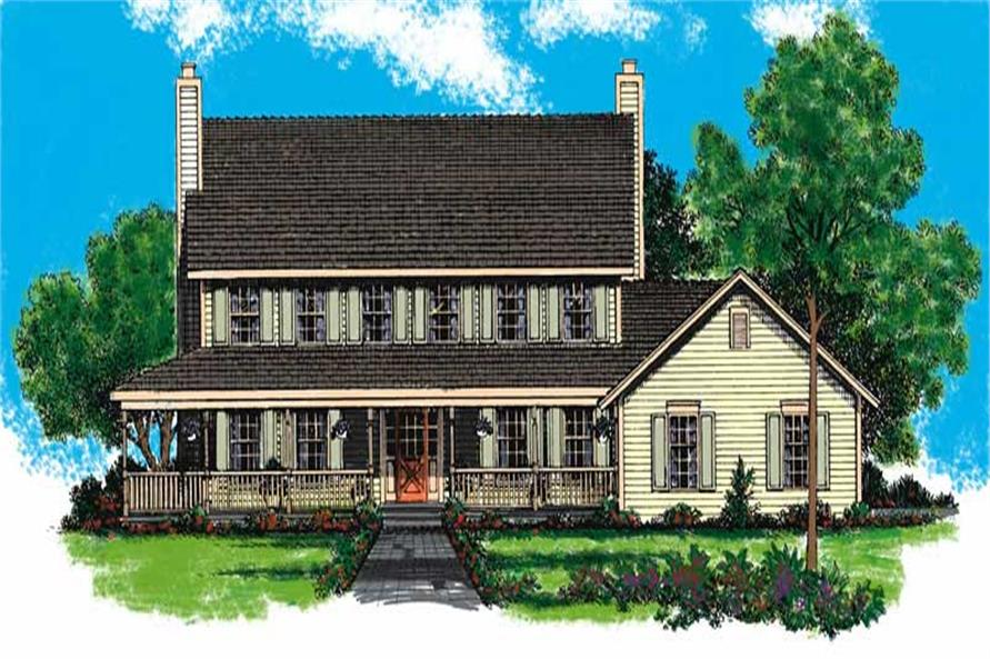Main image for house plan # 18566